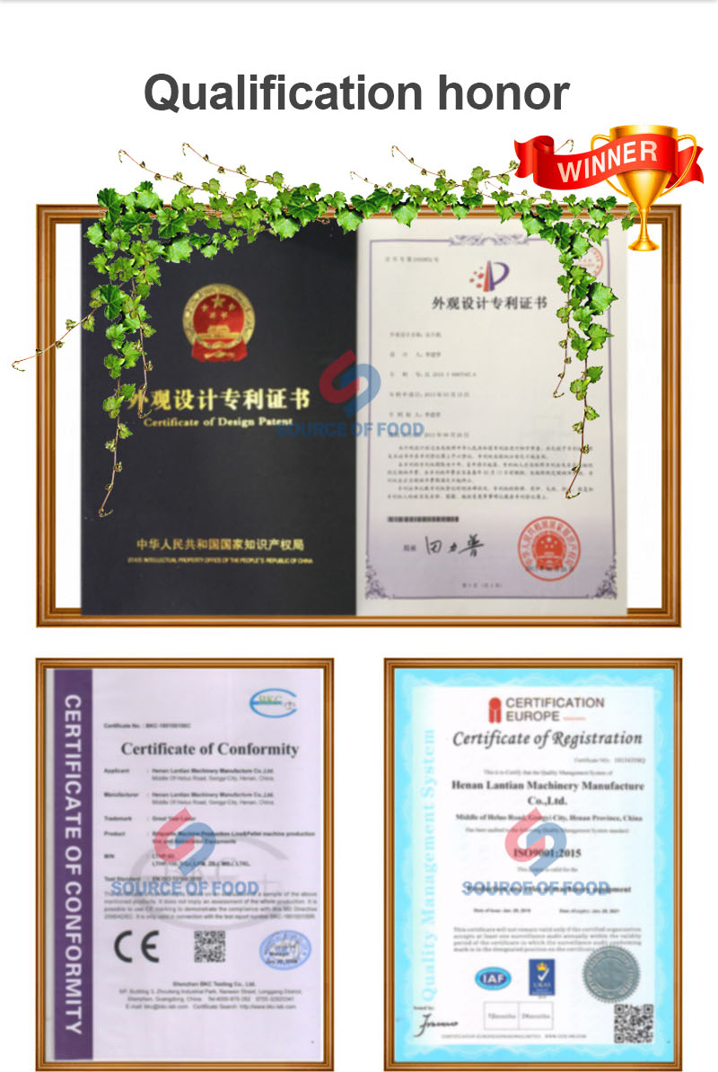 our coconut meat dryer  have been ISO high-quality certification and European Union CE recognition. Certificate