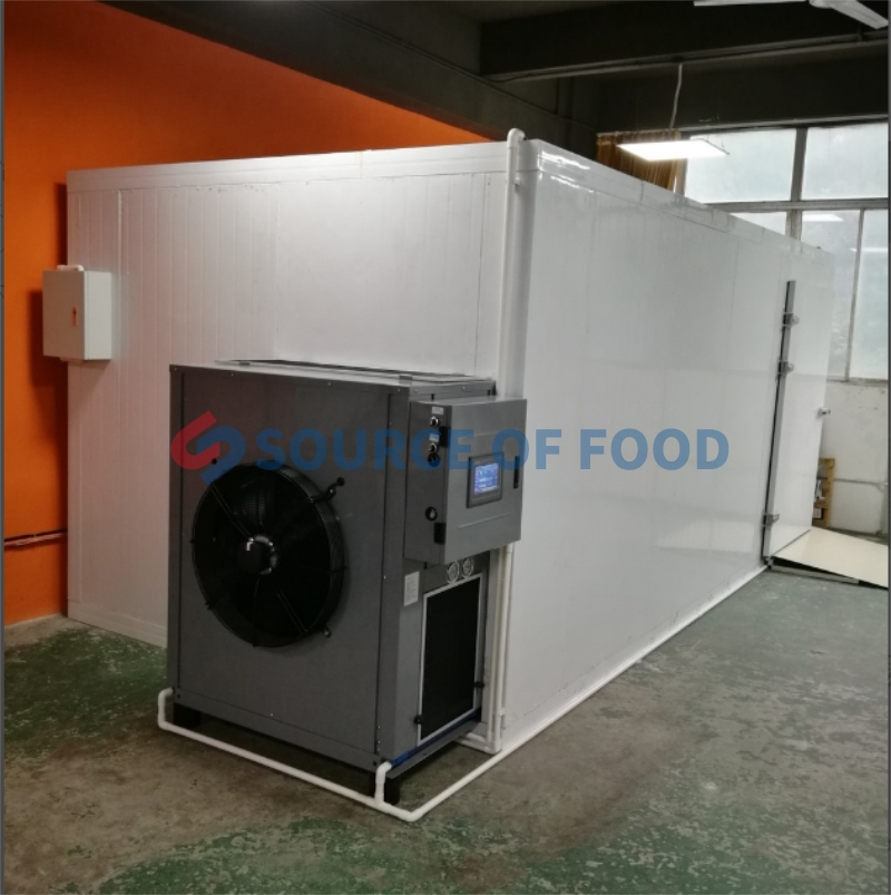 sand ginger dryer machine belongs to the air energy heat pump dryer.