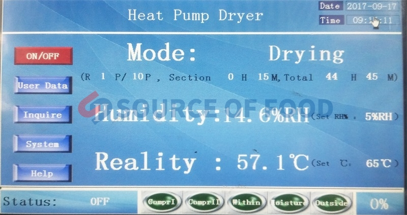Eucommia dryer and Morinda Officinalis dryer are belongs to air energy heat pump dryer machine