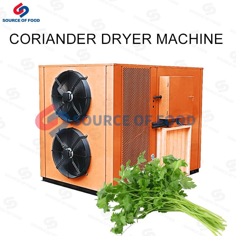 Our coriander dryer machine is belongs to air energy heat pump dryer.