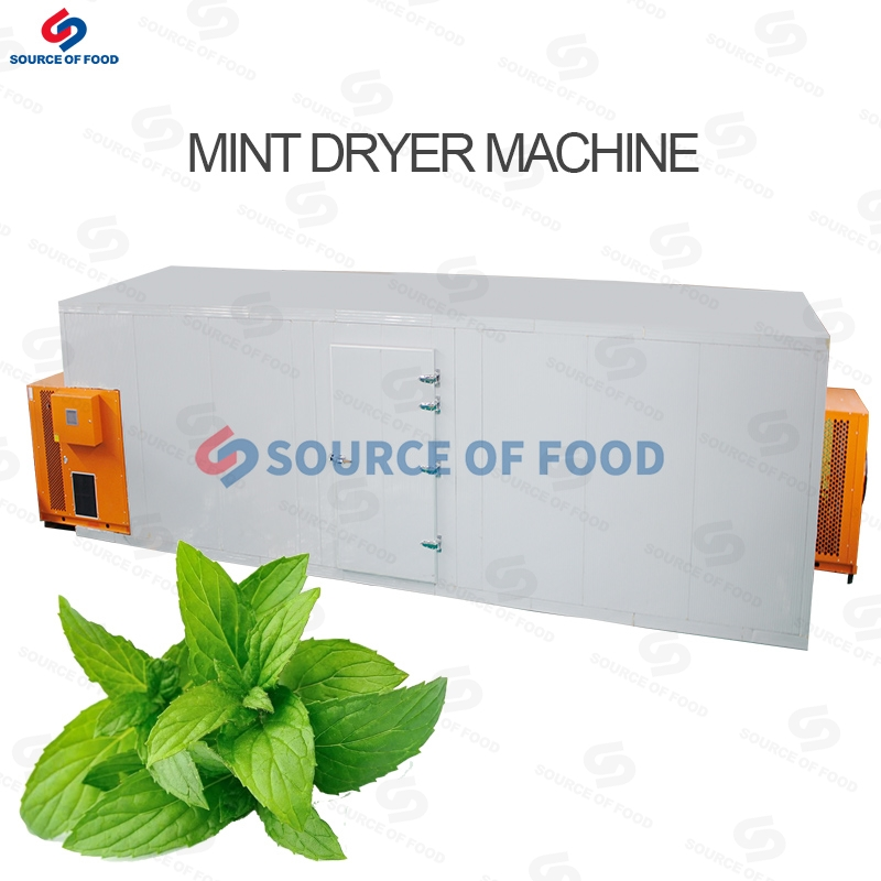 Our mint dryer machine belongs to the air energy heat pump dryer