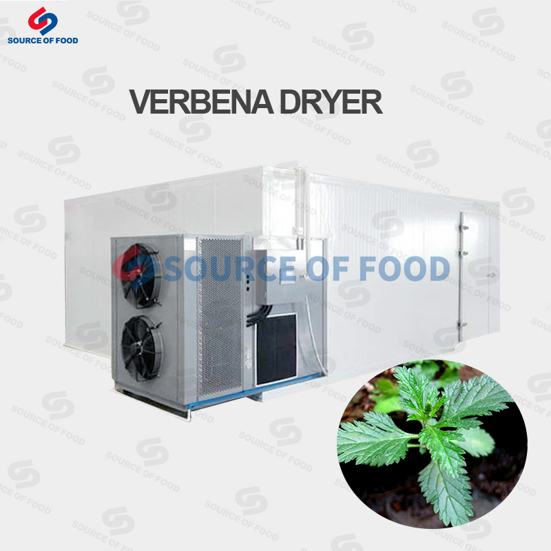 Verbena dryer belongs to air energy heat pump dryer