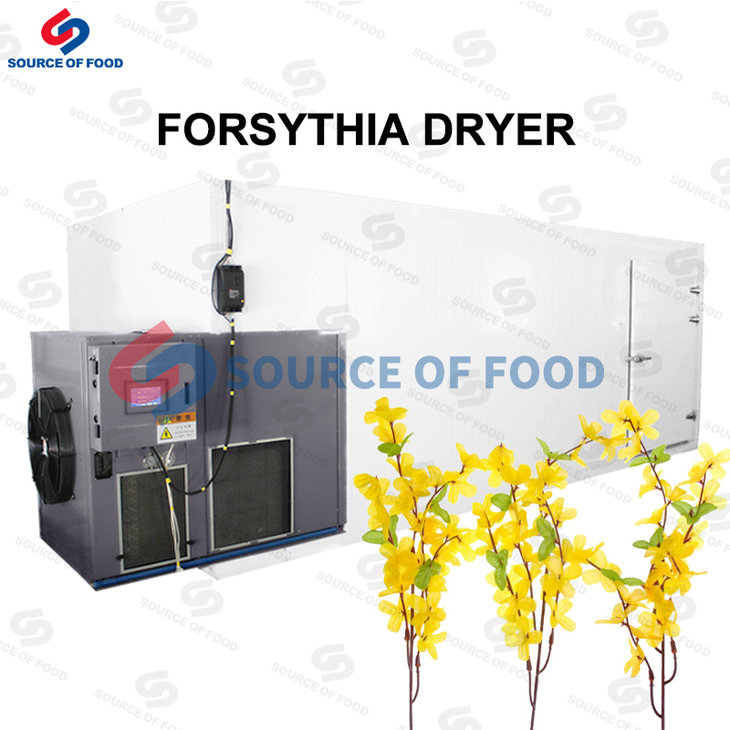 Forsythia dryer and Selfheal dryer are belongs to air energy heat pump dryer