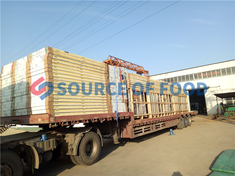litchi drying equipment is widely sold overseas.