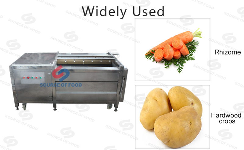Widely used of our potto washing machine
