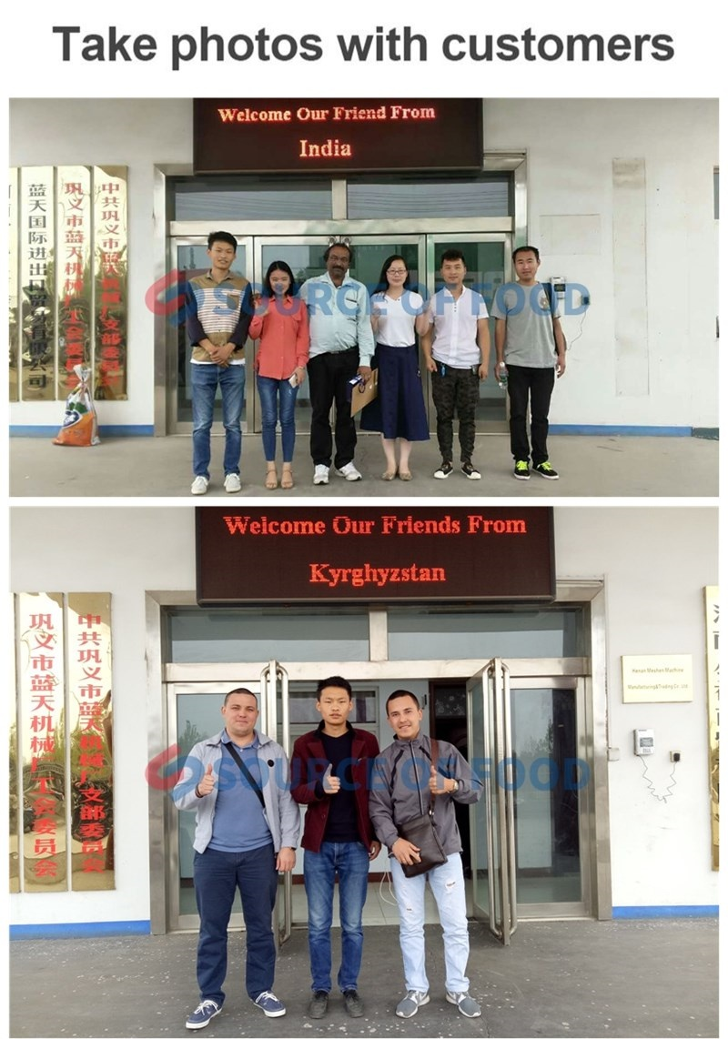 Our customers of mushroom cold storage