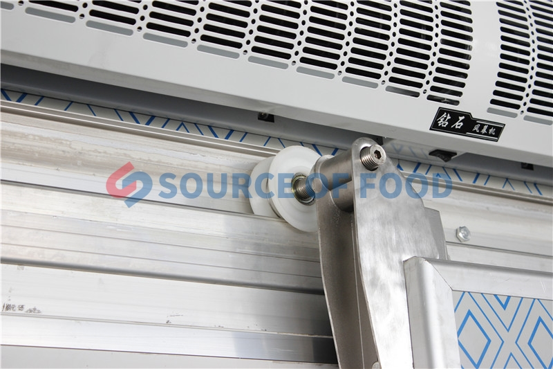 The panel of the cold storage for grap is high quality.
