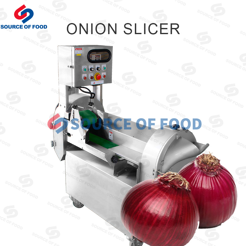 Our onion slicer machine have good quality and excellent performance