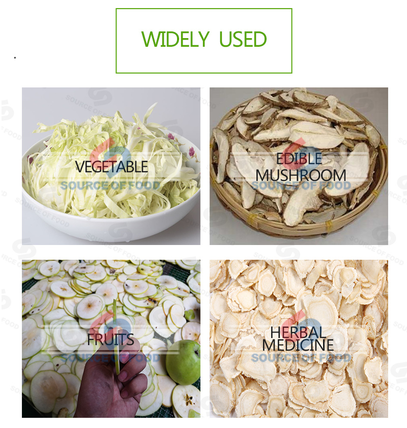 Widely used of cabbage slicer machine
