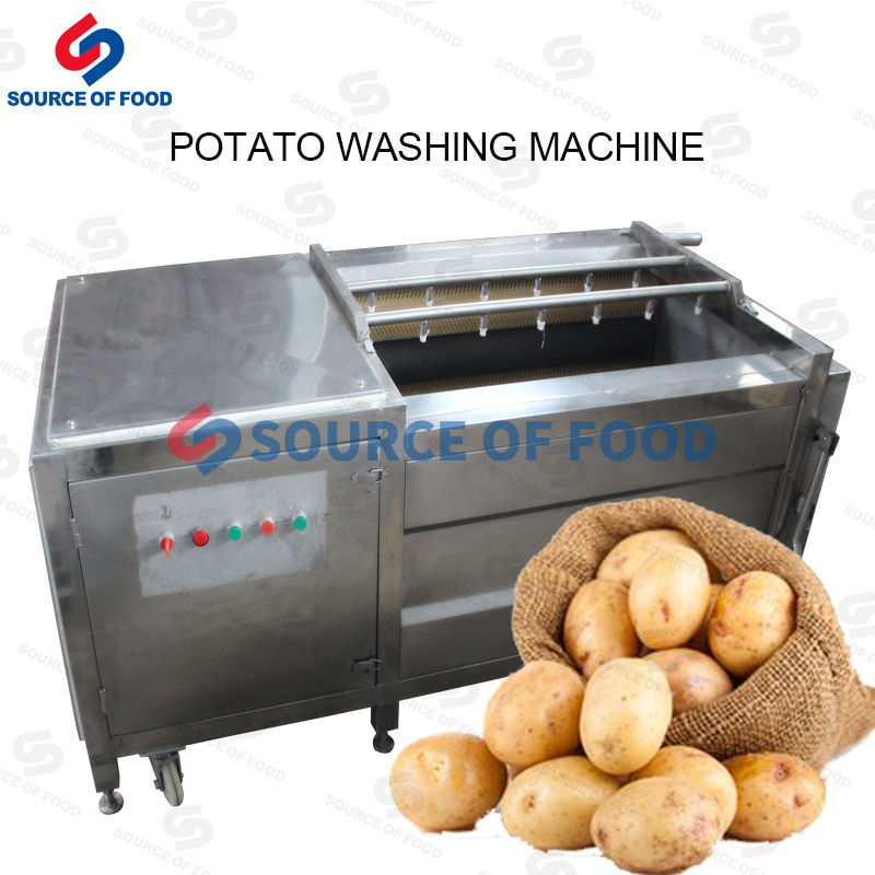 Our potato washing machine belongs to the roller cleaning machine