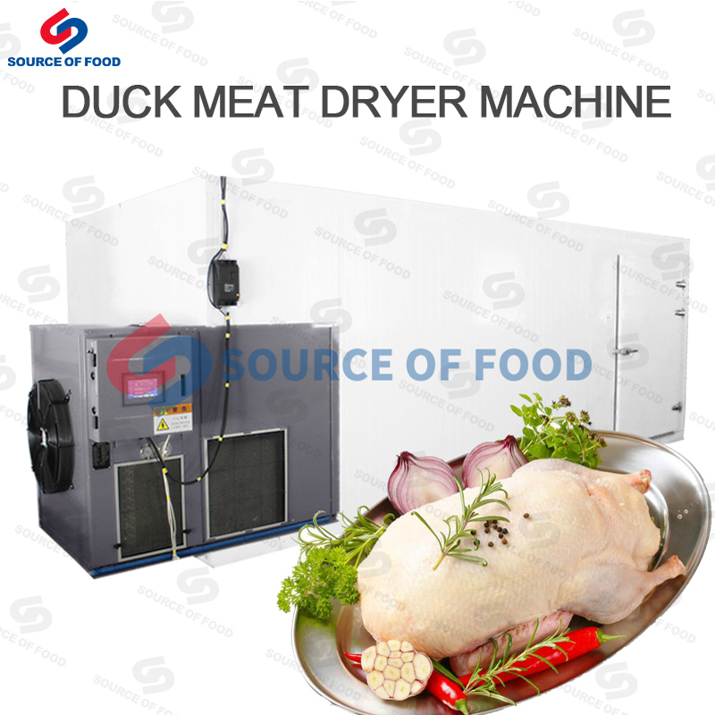 Our duck meat dryer machine belongs to the air energy heat pump dryer
