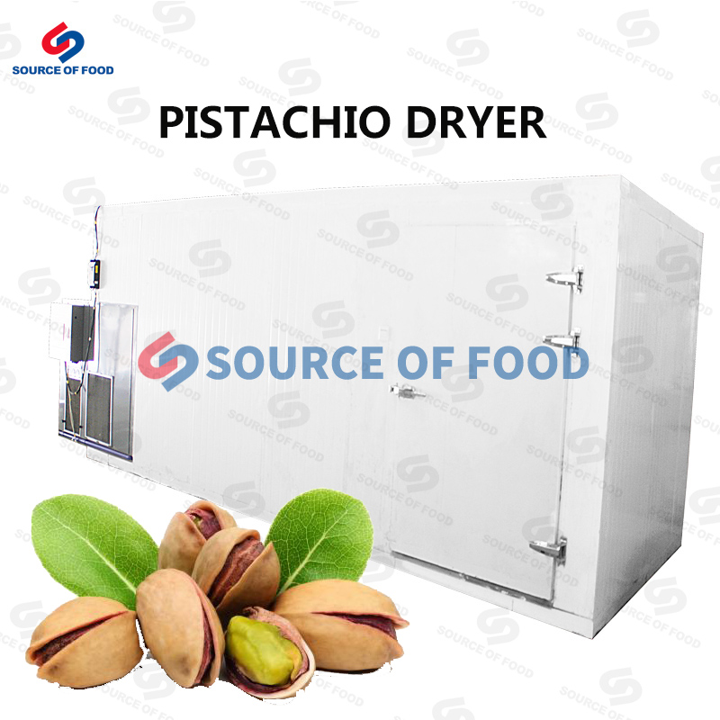 Our pistachio dryer belongs to air energy heat pump dryer,our pistachio dryer machine uses the inverse Carnot principle