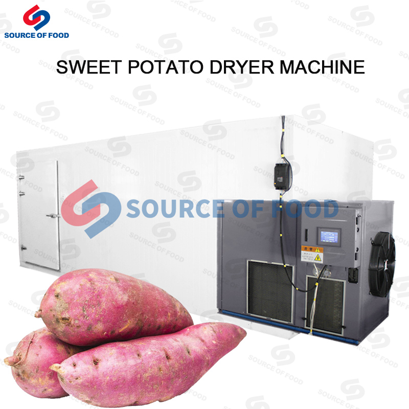 Sweet Potato Dryer Machine