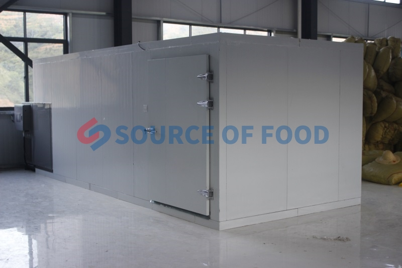 Our paddy dryer machine belongs to air energy heat pump dryer