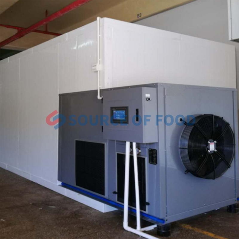 Our chamomile dryer belongs to air energy heat pump dryer