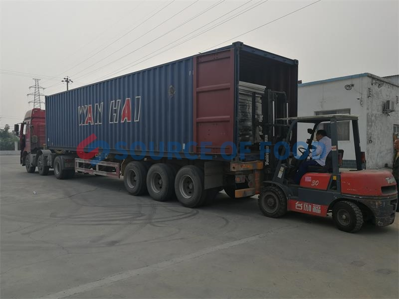Banana Drying Machine Shipping To Thailand